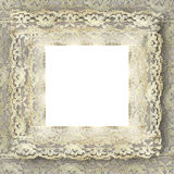Vintage lace frame. With copy space Royalty Free Stock Image