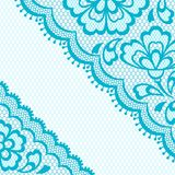 Vintage lace frame, abstract ornament. Vector Stock Photo