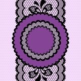 Vintage lace frame, abstract ornament. Vector Stock Photos