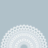 Vintage lace invitation card. Stock Photography