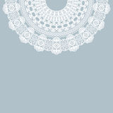 Vintage lace invitation card. Stock Images