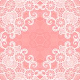 Vintage lace invitation card. Royalty Free Stock Image
