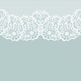Vintage lace invitation card. Royalty Free Stock Photo