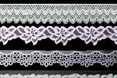 Vintage lace line object Royalty Free Stock Photos