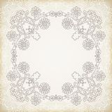 Vintage lace ornament background Royalty Free Stock Photography