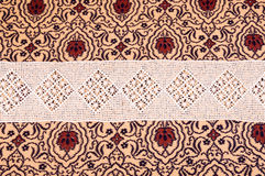 Vintage lace with ornaments Stock Photography