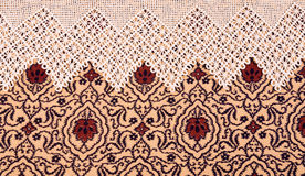 Vintage lace with ornaments Stock Images
