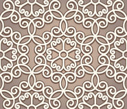 Vintage lace pattern. Vintage ornament, lace texture, seamless pattern Royalty Free Stock Image
