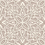 Vintage lace pattern. Vintage ornament, lace texture, seamless pattern Stock Photography