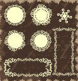 Vintage lace and patterns Royalty Free Stock Photo