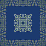Vintage lace seamless background Royalty Free Stock Photography