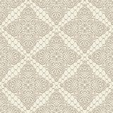 Vintage lace seamless pattern Royalty Free Stock Photos