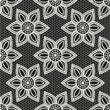 Vintage lace seamless pattern Royalty Free Stock Image