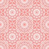 Vintage lace seamless pattern Stock Image