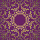 Vintage lace seamless wallpaper Royalty Free Stock Image