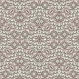Vintage lace texture, seamless pattern Royalty Free Stock Images