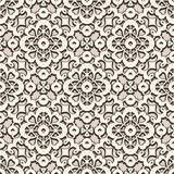 Vintage lace texture, seamless pattern. Vintage lace texture, swirly seamless pattern, elegant tulle ornament in neutral color Royalty Free Stock Photography