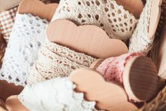 Vintage lace Royalty Free Stock Images