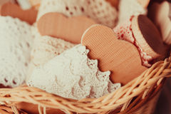 The Vintage lace Stock Photography