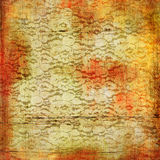 Vintage lacy background Stock Photography