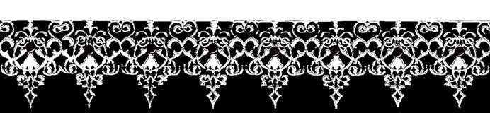 Vintage lacy ornament stock photos
