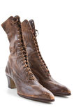 Vintage ladies boots Stock Image