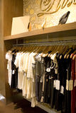 Vintage Ladies Clothing Shop Stock Images