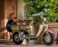Vintage lambretta Royalty Free Stock Image