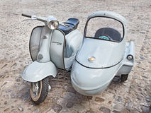 Vintage Lambretta sidecar Royalty Free Stock Photography
