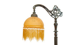Vintage Lamp. Isolated on White, with copy space on left Royalty Free Stock Images