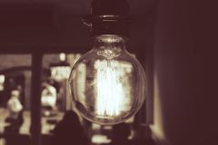 Vintage lamp Stock Image
