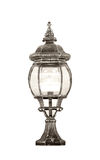Vintage lamp isolated Royalty Free Stock Images