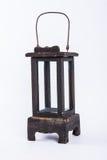 Vintage lamp isolated on white background Stock Image