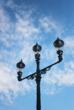 Vintage of lamp post. Stock Photos