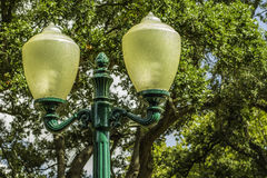Vintage Lamp Post Stock Photography