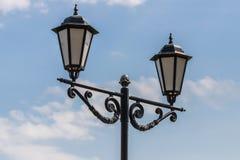 Vintage lamp post or street lantern royalty free stock image