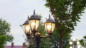 Vintage Lamp Post Street Road Light Pole Royalty Free Stock Photos