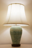 Vintage lamp on the room, Romantic feeling in private room, Interior equipment of house Stock Images