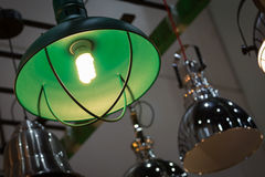 Vintage lamps on ceiling Royalty Free Stock Photo