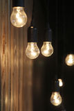 Vintage lamps or light bulbs Stock Photo