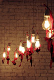 Vintage lamps or light bulbs Stock Photos