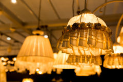 Vintage lamps Stock Image