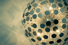 Vintage lampshade detail Royalty Free Stock Photos