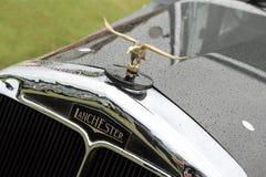 Vintage lanchester hood eagle mascot Stock Photography