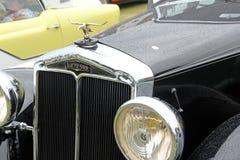 Vintage lanchester hood eagle mascot Royalty Free Stock Image