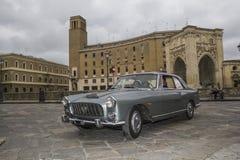 Vintage lancia flaminia 2.8 Coupé Pininfarina lecce Stock Image