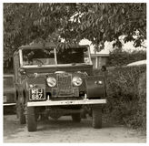 Vintage Land Rover Series 1 Royalty Free Stock Photography