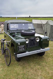 Vintage Land Rover Stock Photography