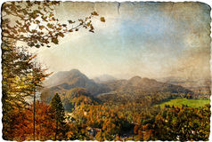 Vintage landscape Royalty Free Stock Images