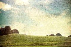 Vintage landscape Royalty Free Stock Photo